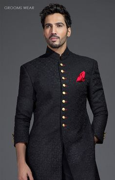 8a7929d370 Groom Attire, Groom Outfit, Groom Dress, Men Dress, Mens Ethnic Wear,