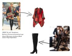 """""""Capes & Overknees"""" by jess-i-superheld on Polyvore featuring Mode und H&M"""