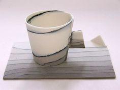 Espresso Cups by Nanna Bayer - Ceramics - Tasmanian artist
