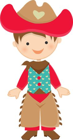 Cowboy e Cowgirl – Minus – Party Cowboy Birthday, Cowboy Party, Little People, Little Girls, High School Parties, Baby Mobile, Cowboys And Indians, Cute Clipart, Western Theme