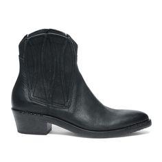 Zwarte western boots
