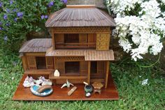 A Small Japanese House by Jill Friendship - Dolls' Houses Past & Present