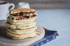 Nutella and 8 Other Foods That Contain the Controversial Ingredient Palm Oil Nutella Pancakes, Sweet Recipes, Healthy Recipes, American Breakfast, Pan Dulce, Food Safety, Ravioli, Ricotta, Nutrition