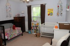 Toddler baby shared room