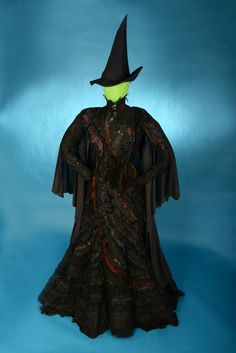 """The Elphaba costume from the musical """"WICKED,"""" designed by Susan Hilferty"""