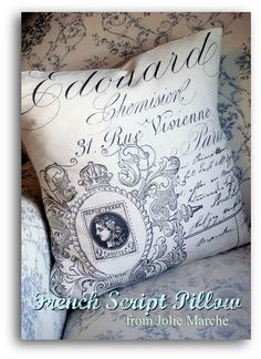 French pillow - CommonGround.com