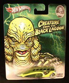 LOW FLOW * THE CREATURE FROM THE BLACK LAGOON / UNIVERSAL STUDIOS MONSTERS * Hot Wheels 2013 Pop Culture Series 1:64 Scale Die-Cast Vehicle, http://www.amazon.com/dp/B00F5898WS/ref=cm_sw_r_pi_awdm_gfwyub0SD9A9W