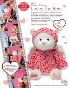 I'm about to order my #Lovey get yours before they sell out! sabrinaw21.scentsy.us #Scentsy