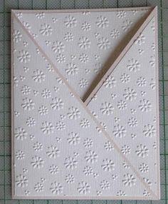 Creaties met Papicolor papier: Meisjeskaart