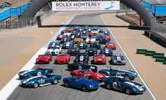 Ford Social: 50 Years of the Shelby Cobra Commemorated at the Rolex Monterey Motorsports Reunion