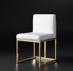 Wexler Square Fabric Side Chair