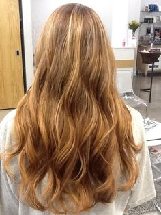 Beachy Waves and soft highlights
