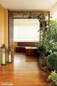 Revista Arquitetura e Construção - 5 pergolados em diferentes materiais para deixar a casa linda