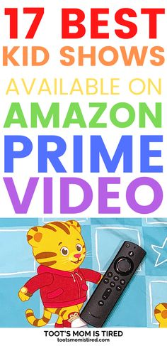 17 Best Kid TV Shows on Prime Video for Toddlers Best Kids Tv Shows, Kids Shows, Toddler Preschool, Preschool Activities, Amazon Prime Tv Shows, Two Years Old Activities, Everything Preschool, Tired Mom, Pbs Kids