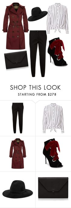 """""""#outfit #fashion #style #amoestaapp #ootdwoman  #design  #fashionblog"""" by veronica-cerpa-quezada ❤ liked on Polyvore featuring Etro, Equipment, Burberry, Giuseppe Zanotti, rag & bone and Valextra"""