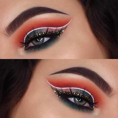 """73 Likes, 2 Comments - AZRAELIA (@azraelia) on Instagram: """"I can't stop using glitter now  - ▪Eyes: @morphebrushes Jaclyn Hill Palette and brushes. @eyeko…"""""""