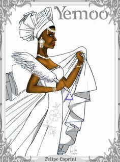 Yemoo, wife of Obatala