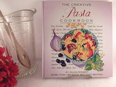 "The Creative Pasta Cookbook More than 130 quick and easy recipes Written by Jillian Stewart Watercolor illustrations Written in American English Hardcover 109 pages 10"" l x 9"" w x 5/8"" h Gift quality and condition - appears ..."