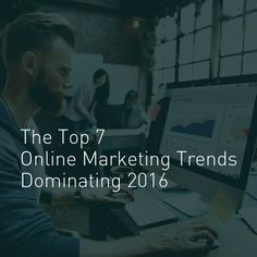 The Top 7 Online Marketing Trends Dominating 2016 http://www.forbes.com/sites/jaysondemers/2016/08/04/the-top-7-online-marketing-trends-dominating-2016/ #internetmarketing