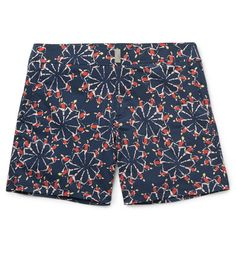 Merise Mid-Length Printed Swim Shorts ($280) by Vilebrequin, mrporter.com
