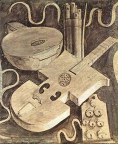 Giorgione, Musical instruments (music) 1510 Style: High Renaissance Genre: still life Media: fresco Casa Giorgione, Castelfranco Veneto, Italy Renaissance Music, Renaissance Paintings, Medieval, Early Music, Religious Paintings, Barbarella, Art Prints For Sale, Sculpture, Musical Instruments