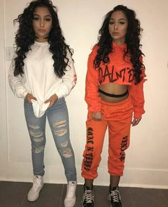 Top 15 Siangie Twins Outfits for You And Your Twin Lit Outfits, Friend Outfits, Dope Outfits, Winter Outfits, Casual Outfits, Siange Twins, Teen Fashion, Fashion Outfits, Womens Fashion