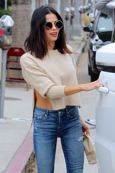 Pin by Kayse Reed on Jenna Dewan Tatum style! Jenna Dewan Hair, Kendall Jenner, Pixie, Casual, Fasion, Short Hair Styles, Celebrity Style, Autumn Fashion, Cute Outfits