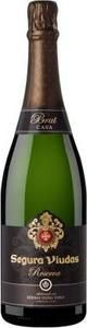 Went well with crostini with herbed goat cheese & oven dried cherry tomatoes. This sparkling nicely cleans the palate. Money for the value 10/10 Segura Viudas Brut Reserva Cava