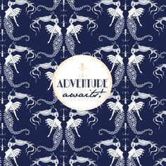 by Twiga Pattern Bazaar #pattern #surfacepattern #design #inspiratonalquotes #advanture #twigapatternbazaar