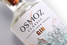 Osmoz Gin - Classic & Citrus on Packaging of the World - Creative Package Design Gallery
