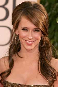 jennifer love hewitt half up half down hair   It is What it Is: Haircut Hiccups