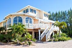 Exterior of Captiva Beach Villa Conch - Captiva Island condo rental