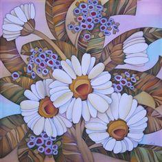 батик Лариса Лукаш, художник из Полтавы - Украина
