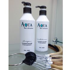 Keep your extensions healthy using sulfate free products!