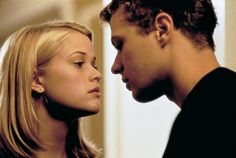Sebastian made me want to be a better man.and I'm not even a man! Cruel Intentions with Reese Witherspoon and Ryan Phillippe (one of my fav movies! Sarah Michelle Gellar, Reese Witherspoon, Ryan Phillippe, Amor Youtube, Cruel Intentions, Famous Movies, 18 Movies, Teenage Daughters, Richard Gere