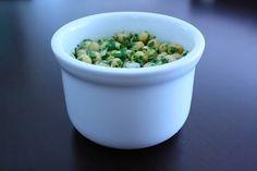 Cilantro Chickpea Salad-yummm!! (Substituted honey for sugar, added balsamic vinegar & ate w/pita pockets...)