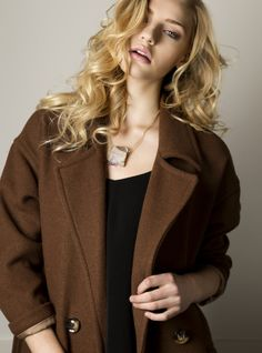 Chrissy Coat Fall 2015, My Mom, Blazer, Boutique, Clothes For Women, My Style, Coat, Sweaters, Jackets