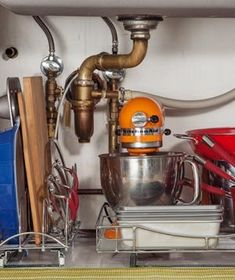 Easy Under-the-Sink Storage Ideas   No matter what you store there, these simple tricks and foolproof strategies will keep that area in tip-top shape.