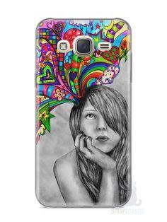 Capa Capinha Samsung J7 Menina Sonhadora - SmartCases - Acessórios para celulares e tablets :)