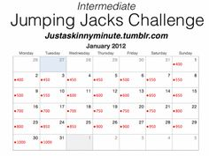 Intermediate Jumping Jacks Challenge