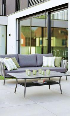 Schon #Stern #Space 3 Sitzer Sofa Mit Wunderschöner Gurtbespannung U003c3  #gartrentrend