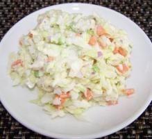 Recette - Salade coleslaw - Notée 4.1/5 par les internautes