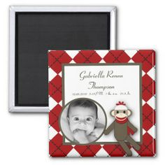 """==>>Big Save on          {TBA} 2""""x2"""" Red Sock Monkey Announcement Magnet           {TBA} 2""""x2"""" Red Sock Monkey Announcement Magnet This site is will advise you where to buyHow to          {TBA} 2""""x2"""" Red Sock Monkey Announcement Magnet today easy to Shops & Pur...Cleck Hot Deals >>> http://www.zazzle.com/tba_2_x2_red_sock_monkey_announcement_magnet-147296812383645286?rf=238627982471231924&zbar=1&tc=terrest"""