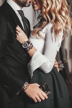 Sexy couple. Classy stylish