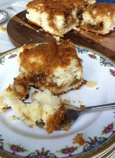 Cinnamon Flop- An old fashioned breakfast cake