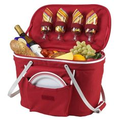 I pinned this Collapsible Insulated Picnic Basket from the A Picnic in the Park event at Joss and Main!