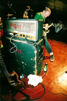 Fugazi at Sloss Furnace, Birmingham, AL Photo by Ryan Russel