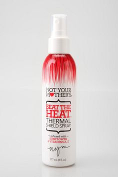 Protect your hair!!  Not Your Mother's Beat The Heat Thermal Shield Spray with sunflower and Vitamin A & E protects your hair from the scorching heat every time you pick up your flat or curling iron.
