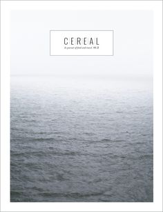 This photograph: Cereal Magazine, Image of Volume Two