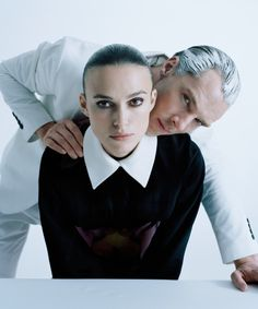 wmagazine:Keira and Benedict Photograph by Tim Walker; styled by Jacob K; W magazine February 2015.